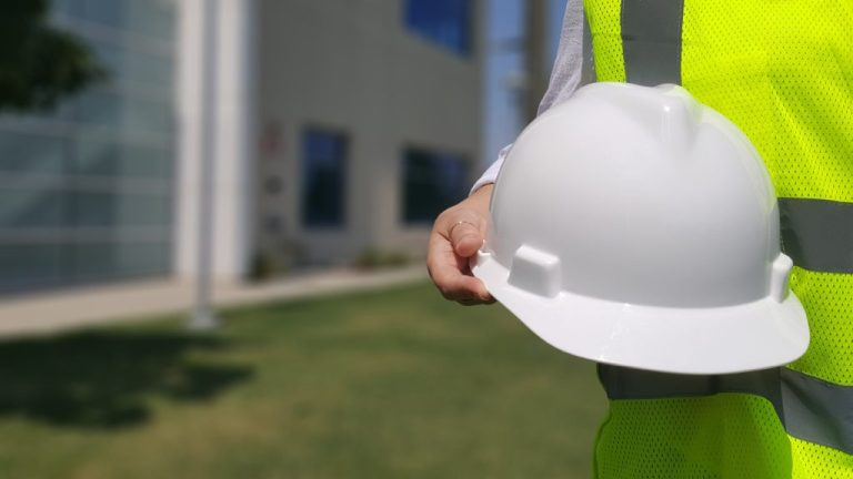 Maître d'œuvre sur chantier