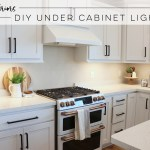 Diy Or Buy Under Cabinet Lighting Cjc Interiors