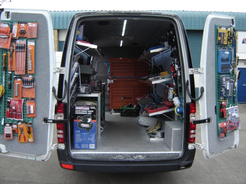 Custom Shelving Van Conversions
