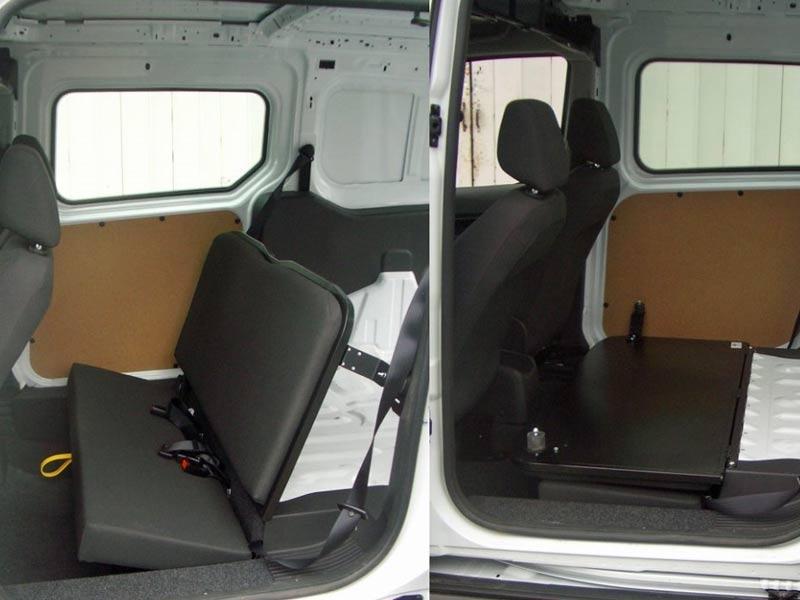 Folding Seats Vehicle Adaptation