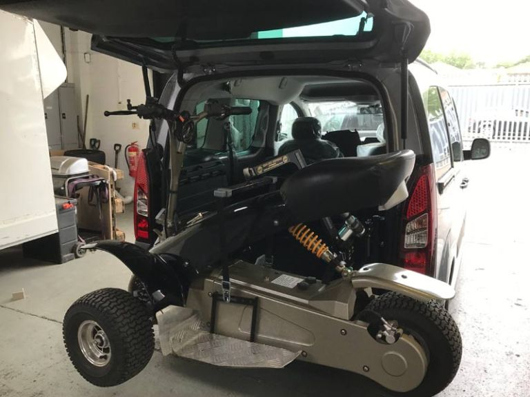 Brid-Ayd Evotech Hoist Vehicle Adaptation