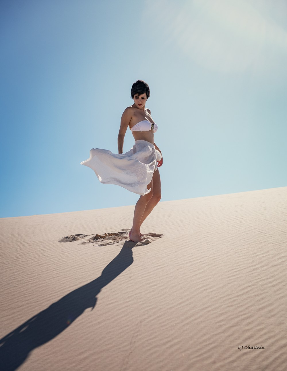 Masha Rizzi, 2019, by photographer Clint Chastain