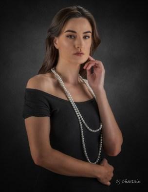 Model Dakota Snow (c) 2020 by photographer CJ Chastain