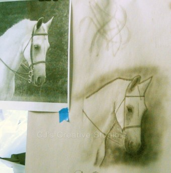 First AB Image - horse