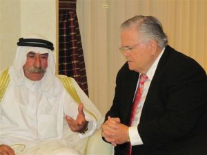 The Hagee and Ja'abari Historical Meeting
