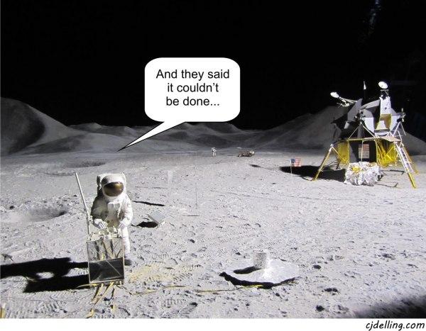 Moon landing   Augmented reality