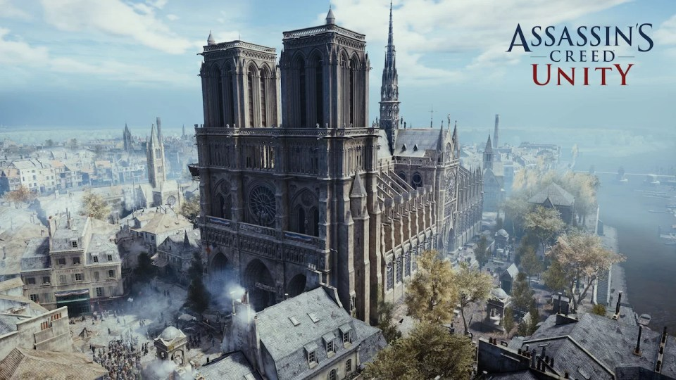 Assassin S Creed S Virtual Notre Dame Proves The Value Of Video Games Game Design Blog