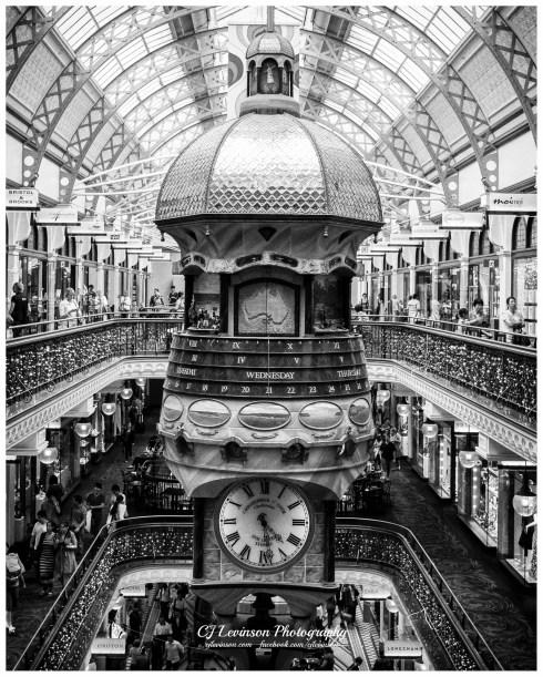 The Great Australia Clock in the Queen Victoria Building