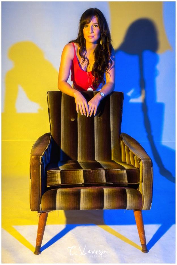 Coloured Gels Portrait Shoot-4