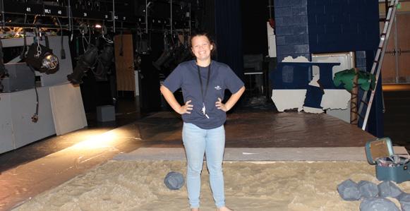 Photo of Set Designer Lindsey Harford