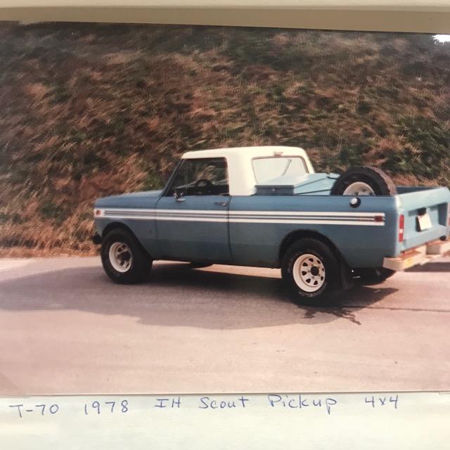 CJ Miller Pick-up truck