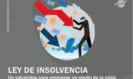 Ley de insolvencia, un salvavidas para empresas en medio de la crisis