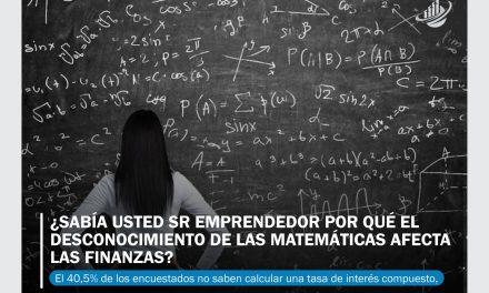 ¿Sabía usted Sr Emprendedor por qué el desconocimiento de las matemáticas afecta las finanzas?