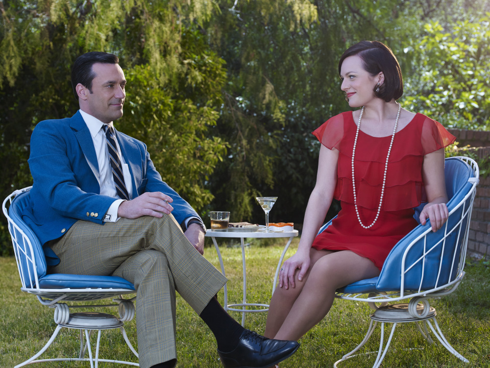 Don and Peggy Mad Men 7