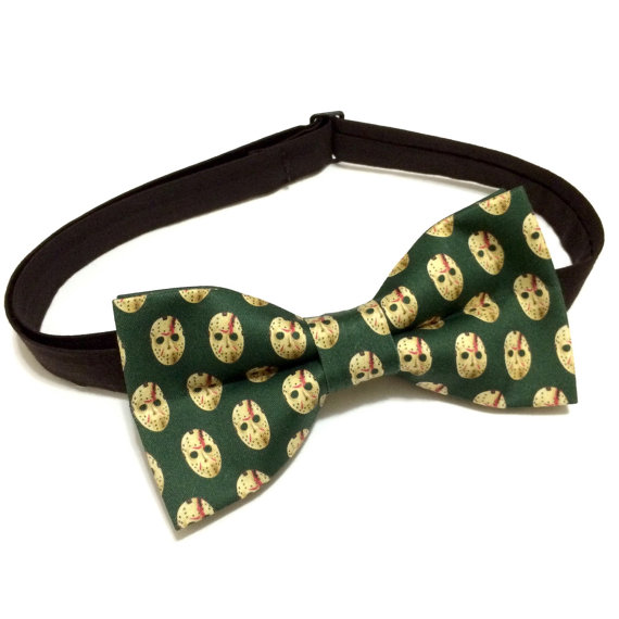 Friday the 13th Bow Tie