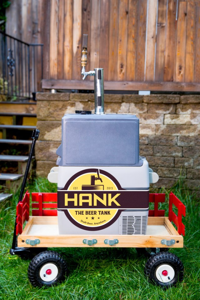 Hank the Beer Tank 2