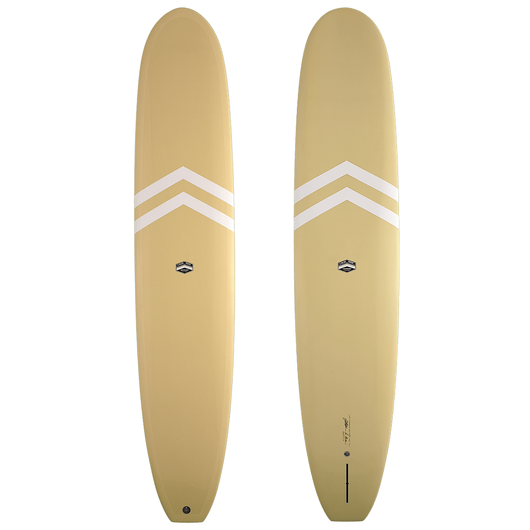 Tan with White Chevrons