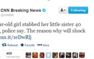 CNN Twitter post