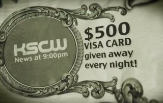 Sweepstakes ad for $500 VISA card