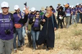 Entering Sarura, Sumud: Freedom Camp