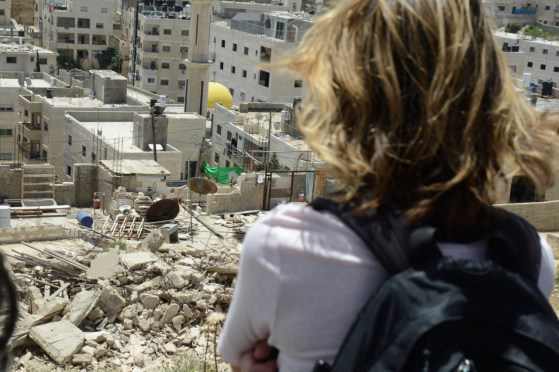 Witnessing Demolition in Issawiya