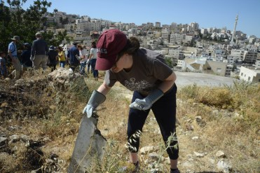 Working in Issawiya
