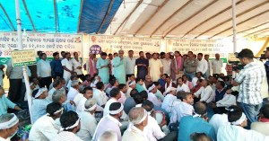 Odisha farmers begin Satyagraha