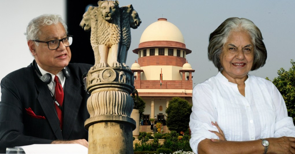 activists Indira Jaising and Anand Grover