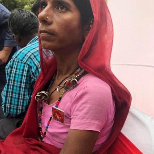 Loyabai from Burhanpur, Madhya Pradesh — Jagrut Adivasi Dalit Sanghatan.