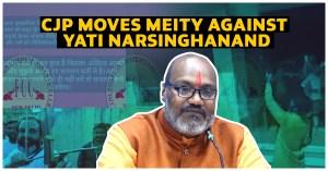 Yati Narsinghanand CJP wednesdays