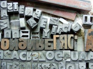 Printing-Press-Letters