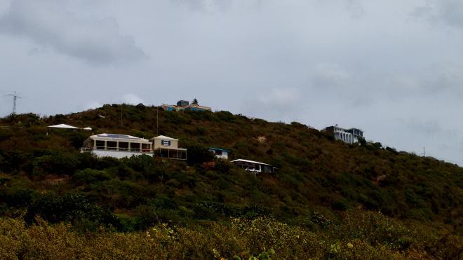 Villas on the hillside