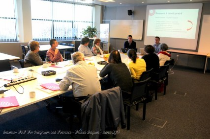 Erasmus+ FIT For Integration and Tolerance - Hasselt Belgium - march 2017 (15)
