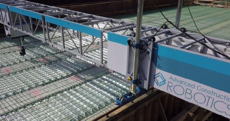 Tybot the autonomous rebar-tying robot