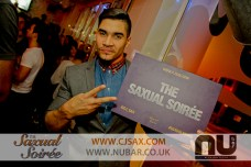 Saxual Soiree @CJ_SAX Louis Smith