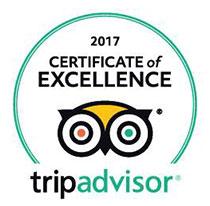 TripAdvisor Award 2017