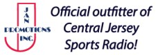 Jan Promotions - official outfitter of Central Jersey Sports Radio!