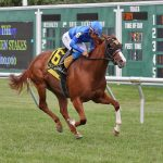 Wesley Ward-Trained Miss Alacrity Scores Easily In Sunday's $100,000 Colleen Stakes