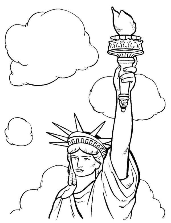 Америка Раскраски Распечатать