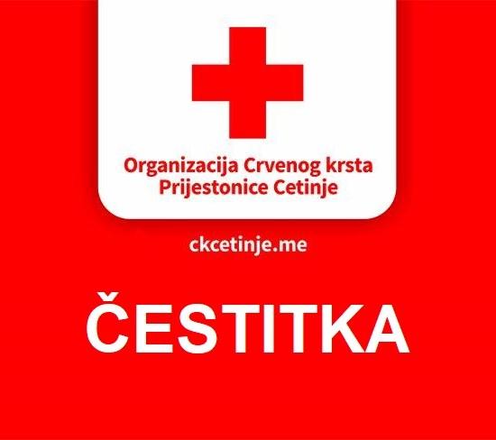 Čestitka povodom dana Crvenog krsta Crne Gore