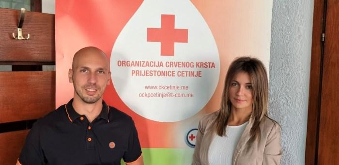 Zlatni sertifikat za Crveni krst Prijestonice Cetinje