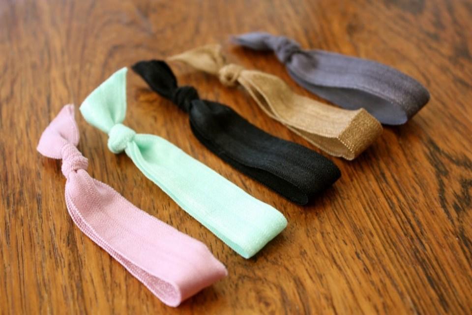 lav dine egne elastikhårbånd elastikarmbånd diy