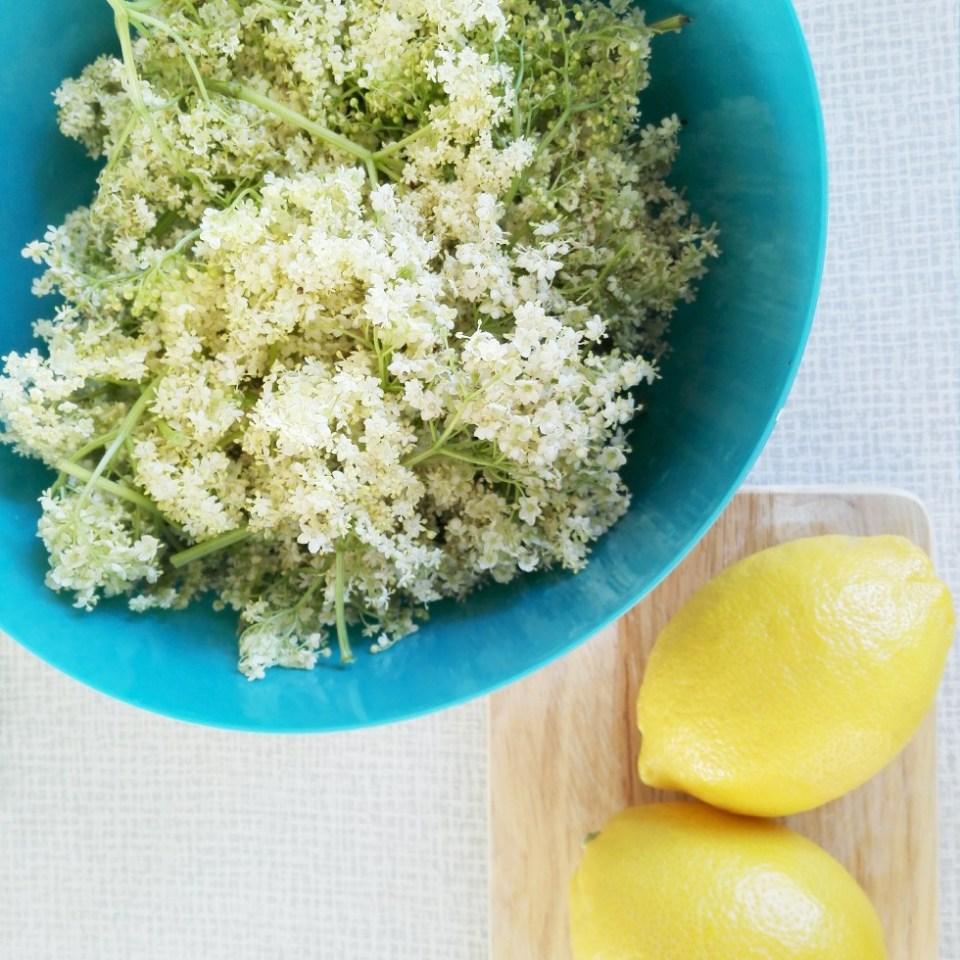 hyldeblomst citron opskrift