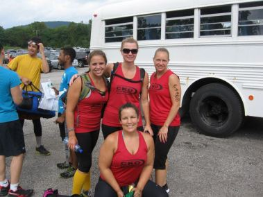 Pre-race small group pic.