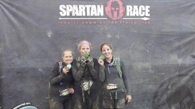 Tough women. Spartans!!