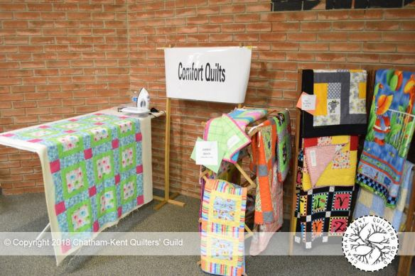 Comfort Quilts Annual Report 2018 - Chatham-Kent Quilters' Guild