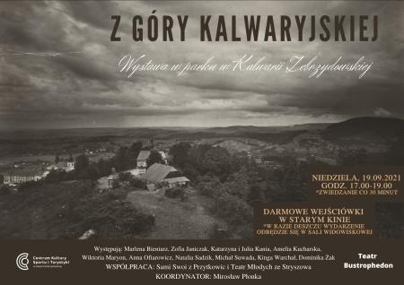 """Plakat wystawy: """"Z Góry Kalwaryjskiej"""""""
