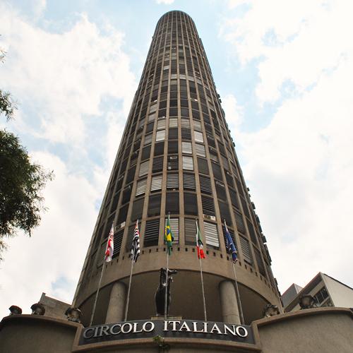 Visita ao Terraço do Edifício Itália