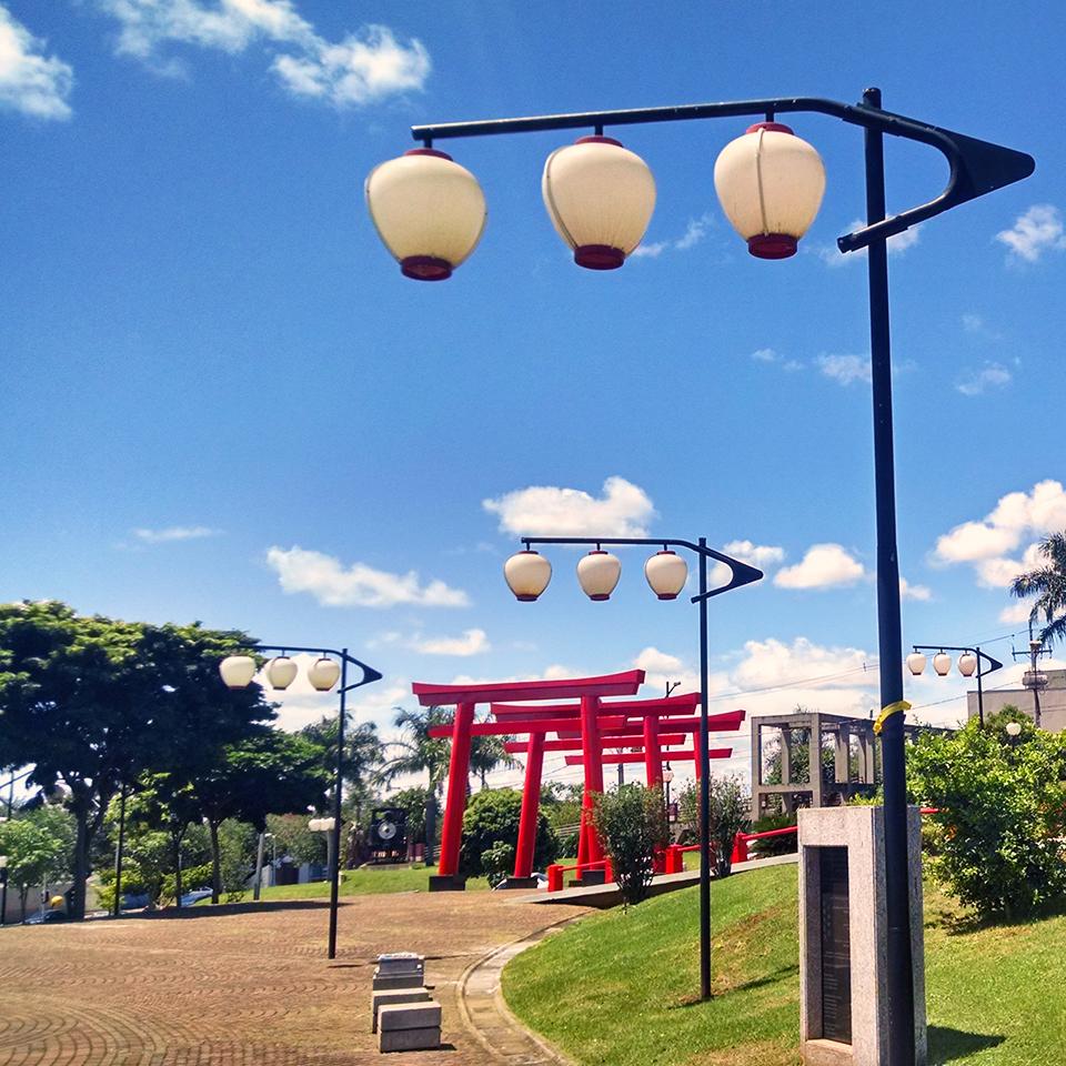 Conheça a Praça Tomi Nakagawa em Londrina