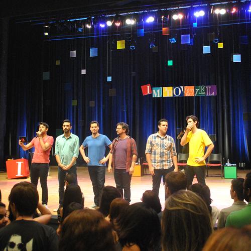 Cia. Barbixas com o espetáculo Improvável no Teatro TUCA em São Paulo